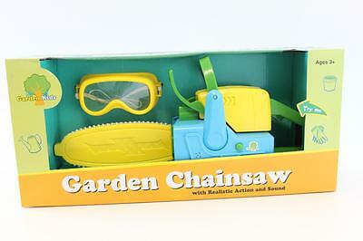 New Toy Chainsaw With Realistic Action & Sounds -  Kids Gardening Tools