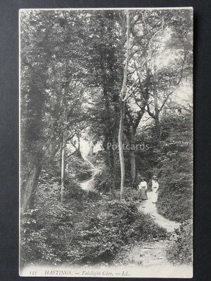 East Sussex HASTINGS Fairlight Glen c1906 by LL 133