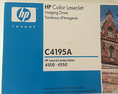 HP Color Laserjet 4500 4550 Series Imaging Drum C4195A Tambour d'Imagerie
