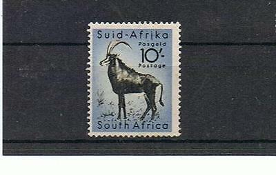 STAMPS  SOUTH  AFRICA (MINT / MLH )1954  WILD ANIMALS 10/-  ANTELORE lot  A 5