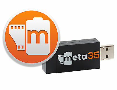 Meta35 for Canon EOS-1V (replaces Canon ES-E1 EOS Link Software and Cable)