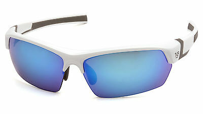 Venture Gear Tensaw VGSW365T White Grey/Ice Blue Mirror Sunglasses AF Lens