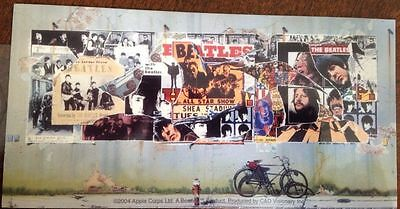 """The Beatles Band Sticker 6""""x3"""""""