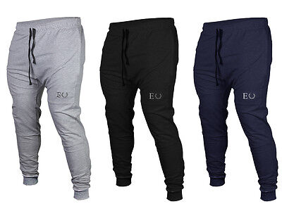 ECHT. Tapered Joggers GYM, TRACK, TRAINING, RUNNING, SHORTS, MENS, PANTS CUFF