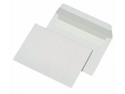 100GSM White Peel & Seal Envelopes PLAIN DL C4 C5 C6 Strong Paper-WINDOWLESS