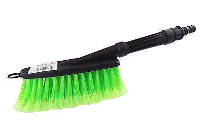Soft Head Car Brush That Attaches To A Hose Barb Or Hozelock Type Connection