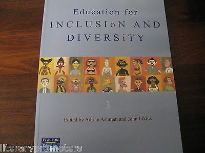 EDUCATION FOR INCLUSION AND DIVERSITY By Adrian ASHMAN John ELKINS Book & CDRom