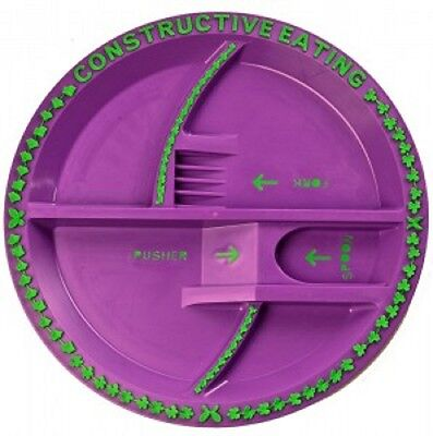 Constructive Eating Garden Fairy Plate NEW for infant eating training