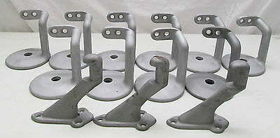 Antique Banister Hand Rail Brackets Lot of 13 Sandblasted Ready To Paint
