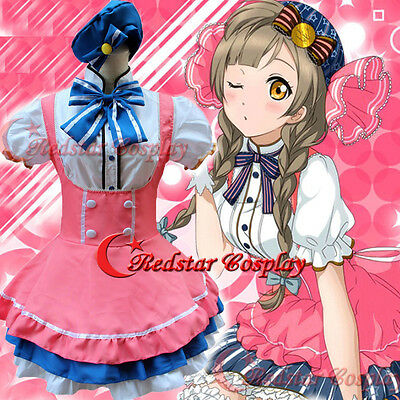 Love Live Minami Kotori Cosplay Costume Lolita Princess Maid Dress