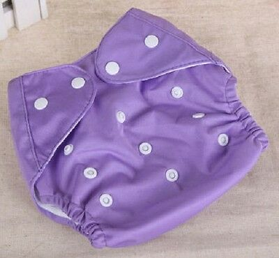 10 Reusable baby  infant nappy cloth diaper washable,adjustable New