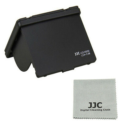 JJC Black LCH-3.0B Universal LCD Hood 3.0 for 3.0inch LCD Screen Display Camera