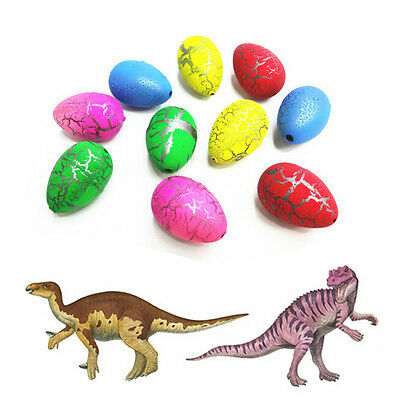 16Pcs Trumpet Growing Dinosaur Egg Jumbo Giant Hatch Dino Hatching Water Toy