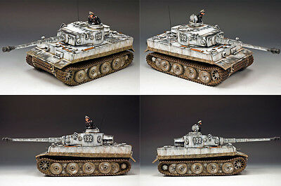 KING AND COUNTRY WW2 The Winter Tiger 1 Tank WSS220 WS220