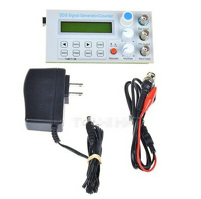 10MHz DDS Function Signal Generator Sine/Square Wave Sweep Frequency Meter TTL