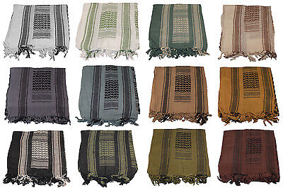 Thunderhead Shemagh Military Tactical Desert Scarf Cotton Keffiyeh Head Wrap TAC