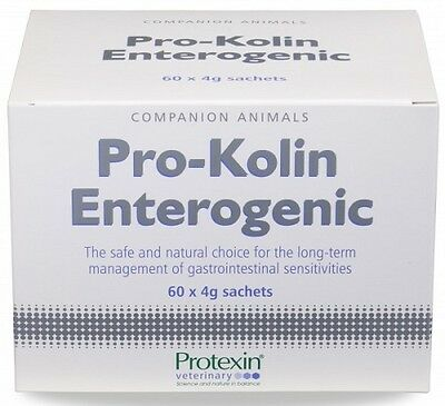 Protexin Pro Kolin Enterogenic 60 x 4g Sachets. Premium Service. Fast Dispatch.