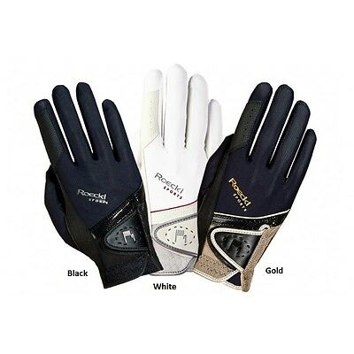 Roeckl London Unisex Riding Gloves. Various Colours & Sizes Available.