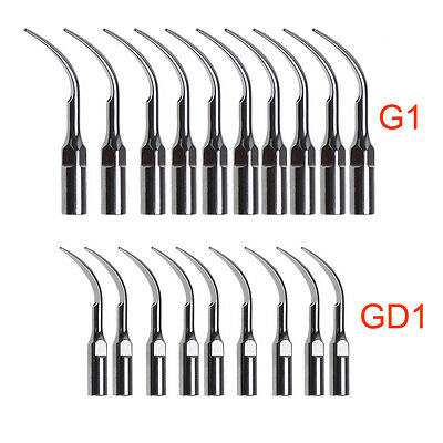10 * Dental Scaler Tip fit EMS WOODPECKER / DTE SATELEC Scaler Handpiece
