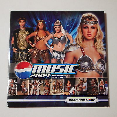 Britney Spears - Pepsi Music 2004 Dare For More PROMO CD-ROM LIMITED VERY RARE