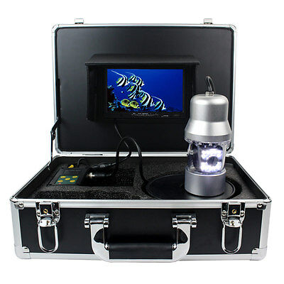7'' Color TFT HD 100m IP68 Underwater Fishing Video Camera Monitor Fish Finder