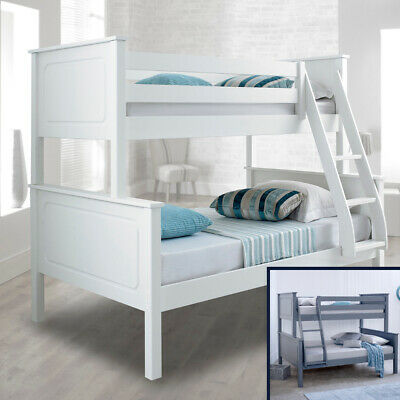 Vancouver Wood Triple Sleeper Bunk Bed 4ft Small Double Mattress/Colour Options