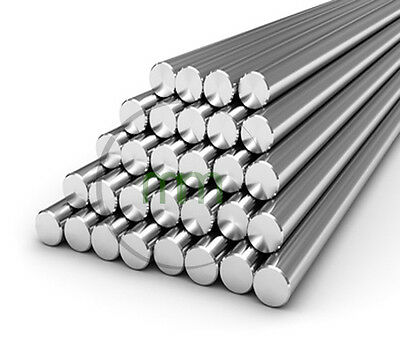 A4 STAINLESS STEEL 25mm Round Bar Steel Rod Metal 316 GRADE STAINLESS STEEL