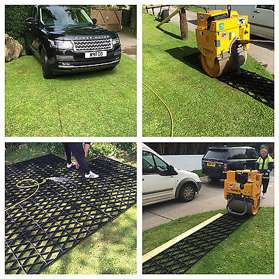 Eco Grass Grid 30 Square Metres Grass Paving Lawn Driveway Grid Grass Protection