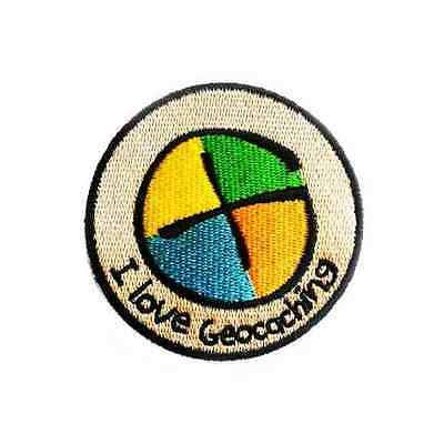 I Love Geocaching - Patch