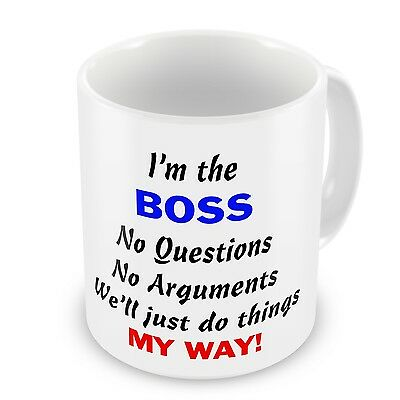 Im The Boss No Questions Arguments Just Do Things My Way CEO Hoodies for Men