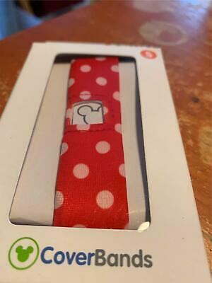 New Disney Parks Magic Band Coverbands Cover Minnie Mouse Polka Dots Small Sm