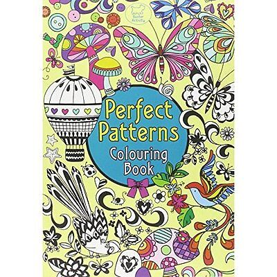 Perfect Patterns Colouring Book Gunnell Buster Books Paperback / . 9781780550107