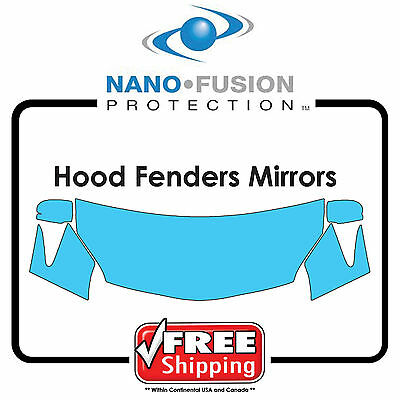 Cut for VW - Avery Nano Fusion Paint Protection Film - Hood Fender Tips Mirrors