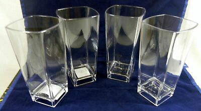 Drinking Tumbler Large Set of 4 Outside Picnic Car Camping Caravan Polycarb Acce