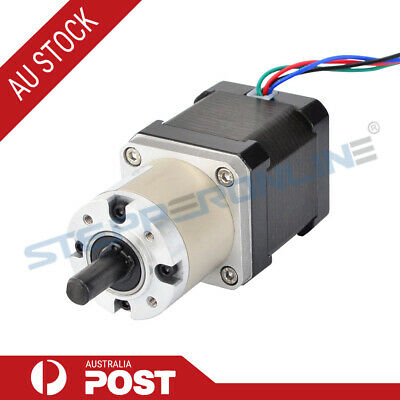 14:1 Planetary Gearbox High Torque Nema 17 Stepper 1.68A CNC Robot 3D Printer