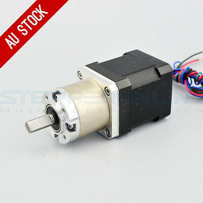 27:1 Planetary Gearbox High Torque Nema 17 Stepper 1.68A CNC Robot 3D Printer