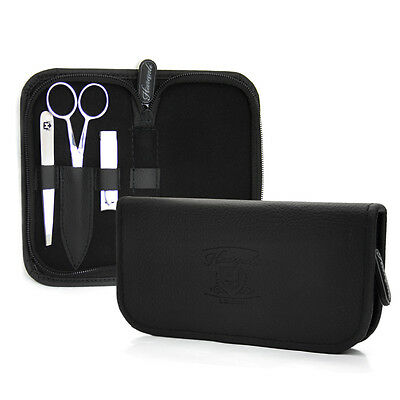 Father's Gift Grooming Kit Nose & Ear hair Scissor, Tweezers , Nail Clipper