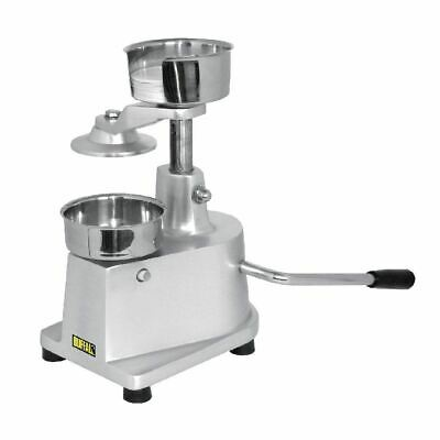 Buffalo Manual Hamburger Machine Silver Colour