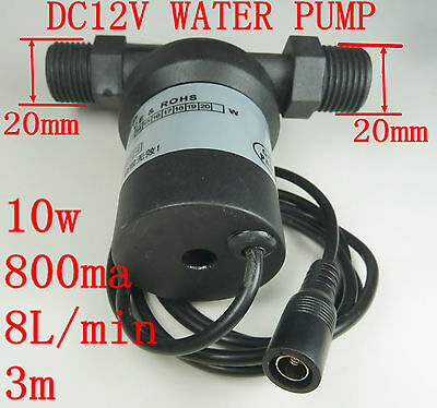 12v DC brushless solar high temperature water pump