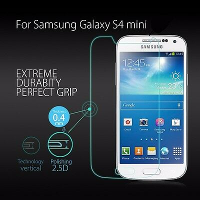 100% Genuine Tempered Glass 9H Screen Protector For Samsung Galaxy S4 Mini