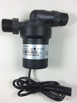24v DC brushless solar high temperature water pump