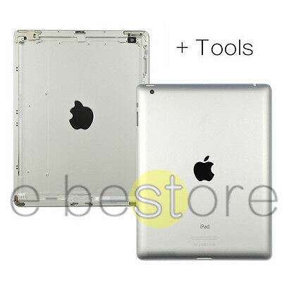 Replacement Battery Back Cover Case Housing For New iPad 3 A1416 WiFi Silver