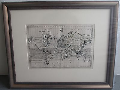Antique Old World Map pre-1700's