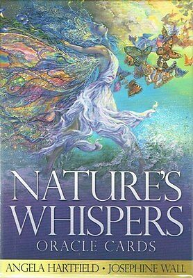 Nature's Whispers Oracle Cards by Angela Hartfield & Josephine Wall NEW & Sealed
