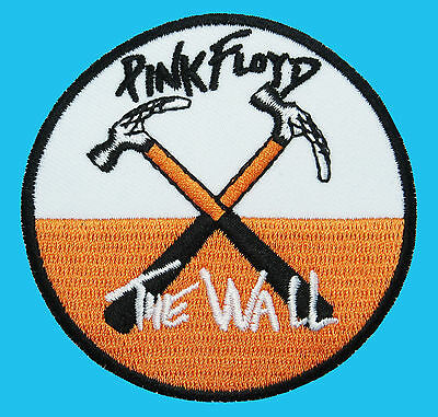 PINK FLOYD The Wall Hammers Classic Rock Music Embroidered Badge Iron On Patch *