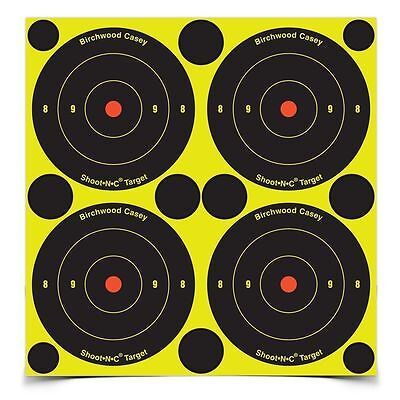 "Birchwood Casey 48 Pack 3"" Shoot-N-C Targets Shooting Air Rifle Target Range"