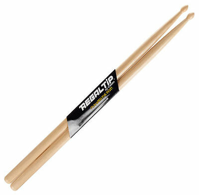 Regal Tip Paire de Baguettes de Batterie 5A Wood Tip