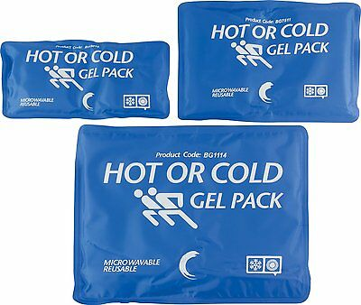 Gel Pack Reusable Multi-Purpose Hot & Cold Compress Pain Relief Therapy