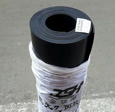 Solid EPDM Rubber Sheet Pad 0.6m * 0.5m *1mm #C01N