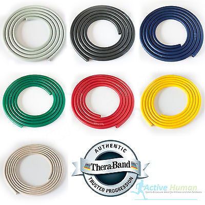 Theraband Resistance Tubing Exercise Pilates Fitness Physio Thera-Band Catapult